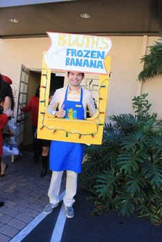 The Arrested Development Bluth Frozen Banana Stand