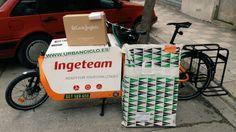 El Corte Ingles Www.urbanciclo.es - Tw: @urbancicloalba- f: Urban Ciclo - Instagram: @urbanciclo #urbanciclo #ecomensajeria  #Albacete #cargobike #bicimensajeria #bikemessengers #bullitteer #bullitt #bullittlife #messlife #bikecourier #transportesostenible