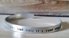 Dr Who Cuff Bracelet We are all stories in the by HammerandHearth