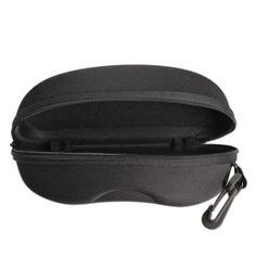 2.01  Zipper Lunettes de Soleil Hard Case Box Portable Protecteur Noir  lunettes de Soleil Boîte dans Trousses De Toilette de Beauté   Santé sur ... e7a0e7781e4c