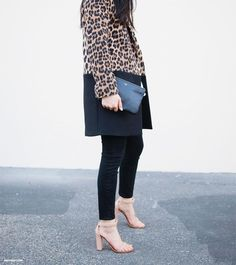 Black, nude and leopard