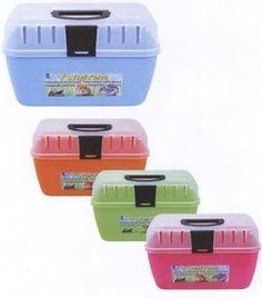 Transportbox Twister, Farbe: gemischt - http://www.transportbox-katzen.de/produkt/transportbox-twister-farbe-gemischt/