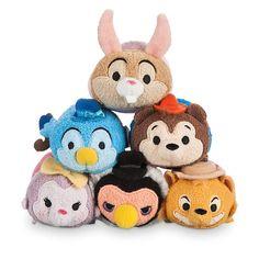 Splash Mountain Tsum Tsum Collection - Brer Rabbit, Mr. Bluebird, Brer Bear, Sis Possum, Vulture Undertaker, and Brer Fox