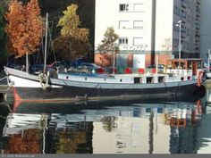 Dutch Barge Motor Klipper live aboard barge