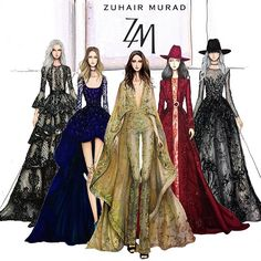 My current mood. Inspired @zuhairmuradofficial #sketch #sketching #drawing #draw #fashion #fashionsketching #fashiondraw #fashiondrawing #fashionsketch #fashionart #art #artwork #instaart #illustration #illustrator #zuhairmurad #hautecouture #paris