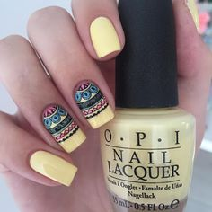 strong pastel nails enriched with beautiful decoration 42 Fancy Nails, Love Nails, Pretty Nails, My Nails, Acrylic Nail Designs, Acrylic Nails, Marble Nails, Mandala Nails, Tribal Nails