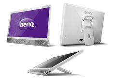 The Benq is a computer monitor that turns into a tablet with the push of a button Cable Internet, Computer Security, Monitor, Gadgets, Android, Technology, Electronics, Button, Phone