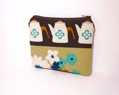 Small  Zipper Pouch Small Change Purse Small by handjstarcreations, $10.00