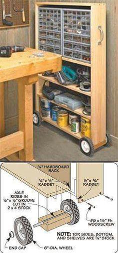 Werkstattwagen (Diy Wood Work Tools)