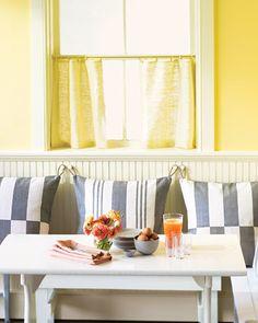 Hanging Dining Nook Pillows - Introduction - MarthaStewart.com