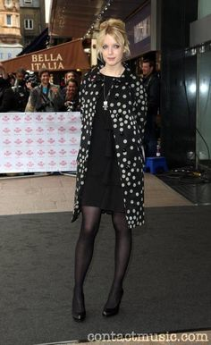 Lauren Laverne The Prince's Trust & RBS celebrate Success Awards at the Odeon Leicester Square - Pictures) Song Of Style, My Style, Lauren Laverne, Zooey Deschanel, Tv Presenters, Celebrity Beauty, Black Tights, Hosiery, Beautiful People