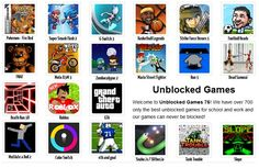 On our site you will be able to play unblocked games, and you did not have to search again every time you liked the entertainment. https://unblockedgames76.weebly.com/