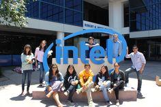 Scholars take a tour of Intel