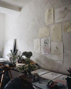 """Artist studio @jorunnmulen #myfloralaffair #spring2018"""