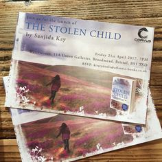 Gorgeous invitations for The Stolen Child book launch party at Waterstones, Bristol I Want Her Back, Book Launch, Launch Party, My Children, Bristol, Thriller, Writer, Product Launch, Author