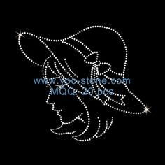 Wings Rhinestone Heat Transfers Customized For T-Shirts Bead Embroidery Tutorial, Paper Embroidery, Hand Embroidery Designs, Beaded Embroidery, Embroidery Patterns, Dot Art Painting, Fabric Painting, Motifs Perler, String Art Patterns