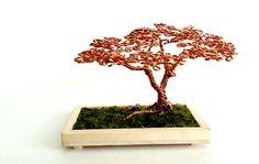 Copper Wire Desktop Bonsai Tree. by angelhitsground on DeviantArt