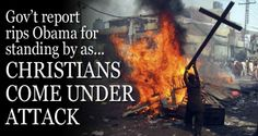 Christians persecuted at alarming rate in Iran, Arab world, US report says...MAY 7, 2014