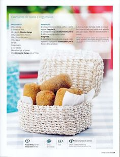 Revista bimby 2011.07 n08 My Recipes, Vegan Recipes, Favorite Recipes, Healthy Life, Healthy Food, Healthy Eating, Kitchen Time, Natural Lifestyle, Happy Foods
