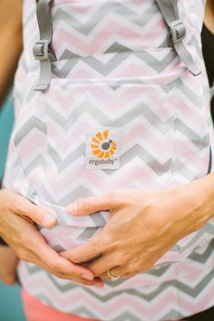 New Ergobaby chevron carrier | Rebecca Fishman | 100 Layer Cakelet