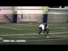 Tennis Ball Suicides - More in the Tank | Nike Hockey Training