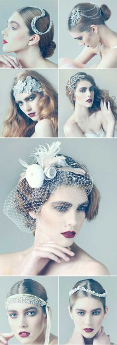 Jayne Taylor Millinery...my gosh...I must have one of these head pieces for my wedding in the future