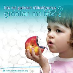 """""""Biz mi gıdaları tüketiyoruz, gıdalar mı bizi?"""" Bizler bu soruyu sıkça kendimize soruyoruz. Daha sağlıklı, daha güvenilir ürünler, daha sağlıklı nesiller için çalışıyoruz.   #WorldHalalUnion #DünyaHelalBirliği #Helal #Halal #Hallal #حلالا #Belgelendirme #Certification #Health #Sağlık #Smiic #Standard #Metrology #Bilinç #Awareness #HelalStandart #HalalStandard #ProductSafety La Luna"""