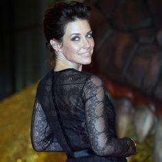 Evangeline Lilly Wears Alberta Ferretti to Slay a Dragon?