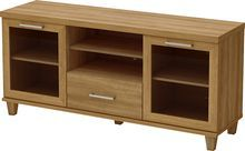 "South Shore - Adrian TV Stand for Flat-Panel TVs Up to 60"" - Honeycomb, 4926662"