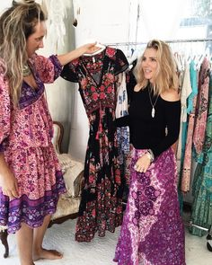 Elsa Pataky at the Spell & The Gypsy Collective studio #spelldesigns
