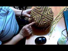 Шкатулка с орнаментом, ситцевое плетение | oblacco