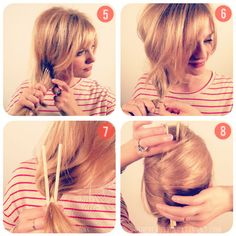 finally, something that looks feasable to pull off a French twist with MY own hair- get the step by step instrucions at TBDafinefrenchy2