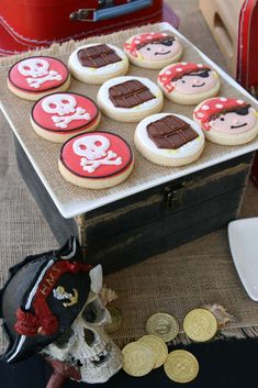 Pirate Party Birthday Party Ideas | Photo 8 of 21 | Catch My Party