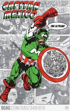 Meanwhile in Mexico// el heroe mas chingon XD
