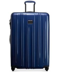 "Tumi V3 30"" Extended-Trip Expandable Hardside Spinner Suitcase - Blue"