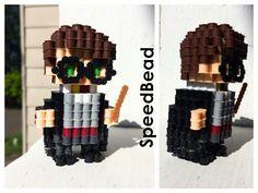 3D Hermione in Perler Beads! - YouTube