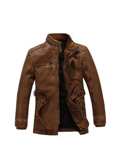 Vintage Men's leather outerwear male jacket,wind coat,casual sports style,X'mas birthday gift to man,lovers,husband,father on Etsy, $99.00