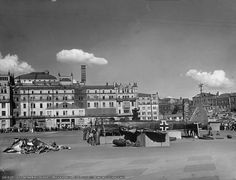 German Nazi Plane on Moscow-square in 1941