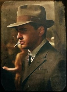 Boardwalk Empire - A portrait of Charles 'Lucky' Luciano #GangsterFlick