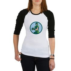 Kids Baseball Jersey T-Shirt oz. heavyweight cotton length contrasting raglan sleeves Standard unisex fit Machine wash cold, no bleach Baseball Shirt Designs, Baseball Jerseys, Baseball Records, Ribbon Shirt, I Love Music, Awareness Ribbons, Cancer Awareness, Endometriosis Awareness, Classic T Shirts