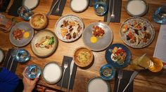 Magpie - Selection of trolley dishes