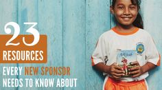 You just joined the Compassion family by sponsoring a child. Now what? Check out these must-see resources to begin your new sponsor journey!