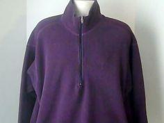 PATAGOIA Vintage Mens XL Purple Fleece Jacket Coat USA Fortrel Polyester #PATAGOIA #FleeceJacket
