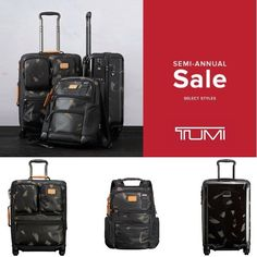 Shop the TUMI Semi-Annual Sale and receive up to 25% off AND get 10% back in eBags rewards!