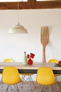 large fork - kitchen / dinning room at home with helena rohner / sfgirlbybay