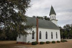 Long Pond GA Montgomery County Gothic Vernacular Methodist Church Landmark Iconic Americana USA Southern Picture Photo Copyright Brian Brown Vanishing South Georgia