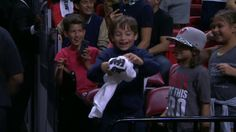 Hassan Whiteside Puts A Smile on A Young Fan's Face, Speaks on Jose Fern...