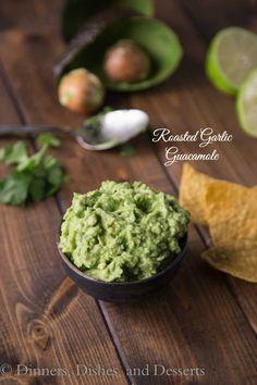 Roasted Garlic Guacamole