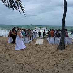 #Wedding on the #beach #luxury #travel #Artist #travelfoodiesTV