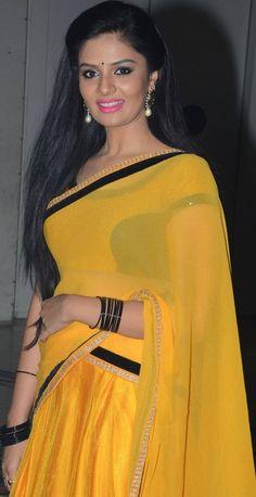 Cute Beauty, Half Saree, Sari, Fashion, Saree, Moda, Fashion Styles, Fashion Illustrations, Fashion Models